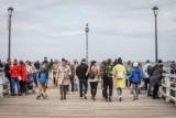 Tłumy na spacerach po Gdańsku. W niedzielę 09.05.2021 bardzo dużo osób wybrało aktywność na świeżym powietrzu [zdjęcia]