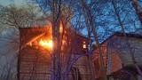 W Tągowiu (gm. Tuchomie) palił się budynek gospodarczy. Na szczęście żadne ze zwierząt nie ucierpiało