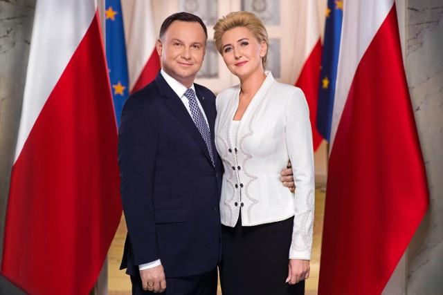 Prezydent RP Andrzej Duda wraz z małżonką Agatą Kornhauser-Dudą przybędzie do Lipnicy Murowanej i Trzciany w poniedziałek 5 lipca 2021