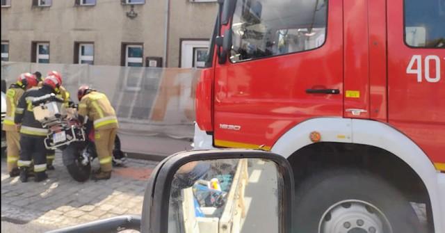 Wypadek w Łosiowie 2.09.2021r.