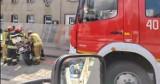 Wypadek w Łosiowie. Bus zderzył się z motocyklem, jedna osoba poszkodowana