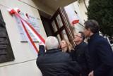 Na budynku Liceum im. A. Asnyka odsłonięto tablicę ku czci bohaterów podziemia antykomunistycznego ZDJĘCIA