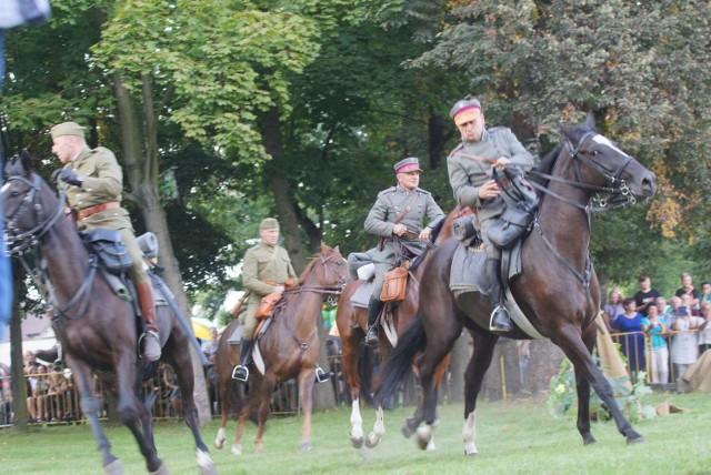 Rekonstrukcja historyczna w Morawinie pod Kaliszem