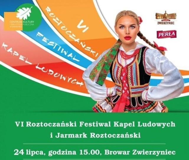 Plakat zapowiadający festiwal
