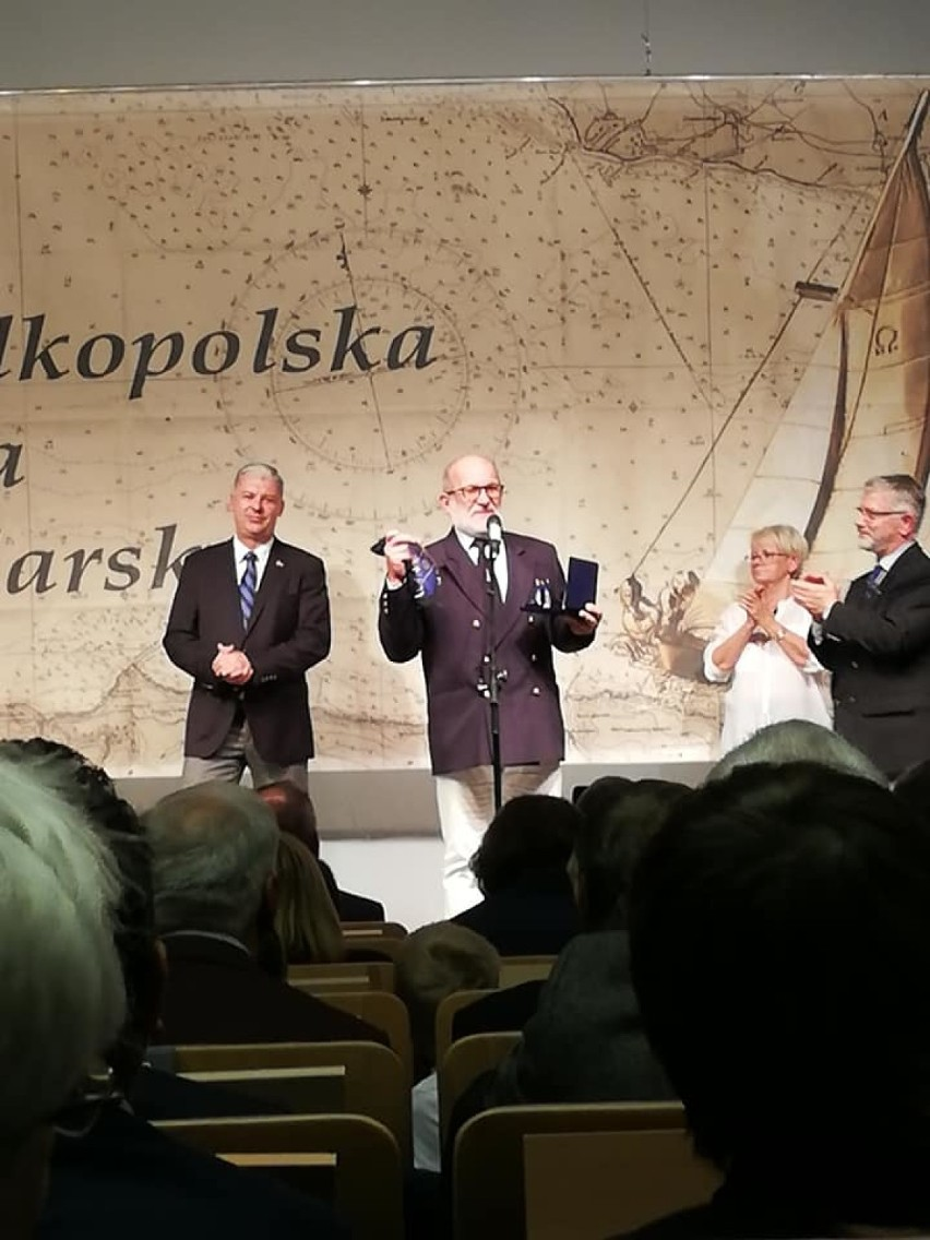 Nagrody dla zbąszyńskich żeglarzy, podczas Wielkopolskiej Gali Żeglarskiej  - 8 listopada 2019