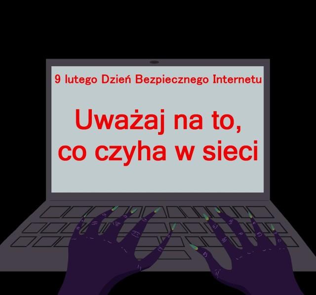 Bezpieczeństwo w sieci oczami uczniów zduńskowolskiego Plastyka