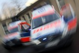 Wypadek w Końskich. Rowerzysta trafił do szpitala