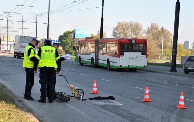 Wypadek na ul. Unii Lubelskiej. Chłopiec potrącony przez autobus.