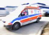 Wypadek w Makowiskach. Dachowanie busa TV Bydgoszcz [WIDEO]