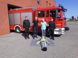 Straż Pożarna w Ostrowie Wielkopolskim otrzymała manekin szkoleniowy do resuscytacji