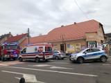 Potrącenie w Szamocinie. Wypadek na przejściu dla pieszych w centrum miasta