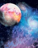 Przenośne planetarium stanie na parkingu CH Tulipan