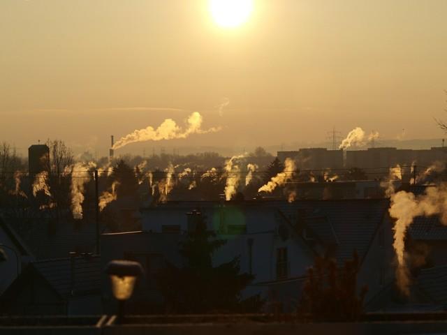 Zanieczyszczone powietrze w Legionowie. Stężenie pyłów większe niż w centrum Warszawy