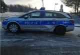 Poręba Wielka. 19-latka uderzyła swoim mitsubishi w policyjny radiowóz [ZDJĘCIA] [AKTUALIZACJA 23.03.2021]