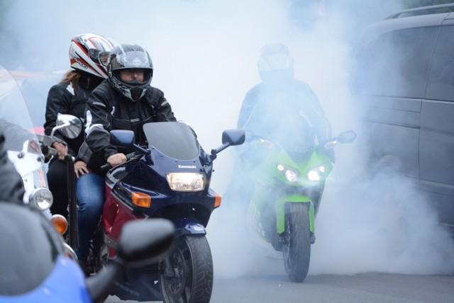 Parada Motocyklowa w Sierakowie