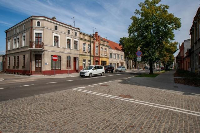 Ulica Bydgoska w Starym Fordonie