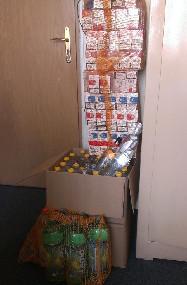 75-letnia mieszkanka Drelowa w pow. bialskim odpowie za posiadanie nielegalnych wyrobów tytoniowych i alkoholowych