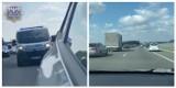 Korytarz życia na autostradzie A4. Policjanci z Krapkowic eskortowali karetkę z sercem do transplantacji