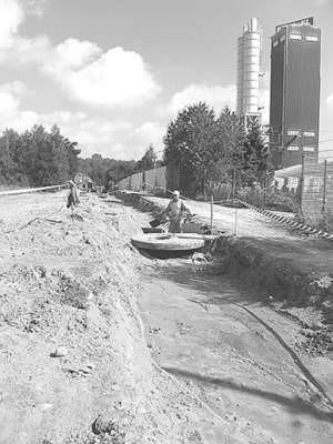 W lipcu rozpoczęły się prace w osiedlu. Ich zakończenie zaplanowano na maj przyszłego roku.