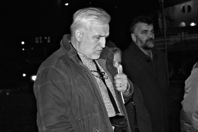 Henryk Opilo podczas uroczystości rocznicowych związanych z wprowadzeniem stanu wojennego - 13 grudnia 2006 roku