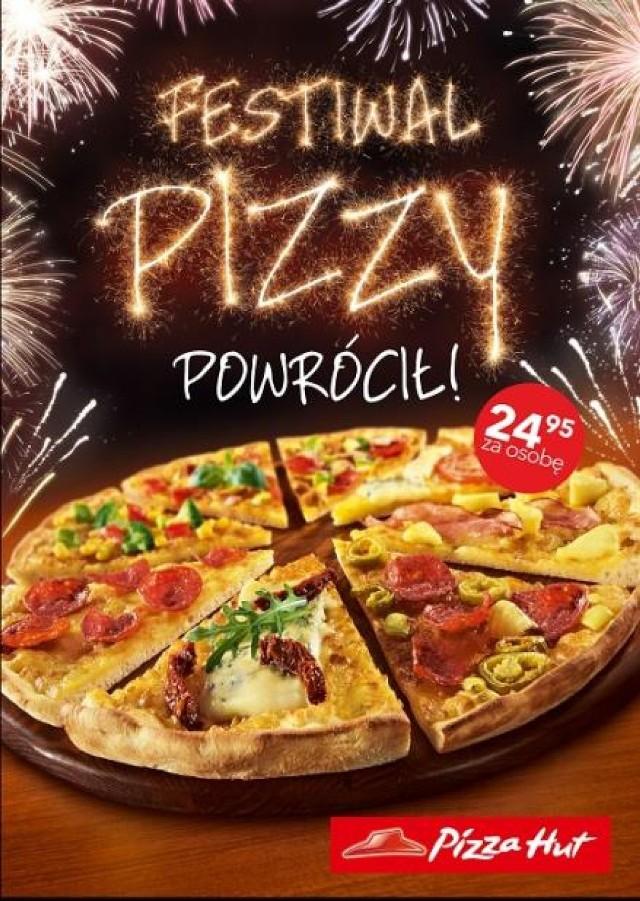 Bydgoszcz: Pizza Hut zaprasza na karnawał z Festiwalem Pizzy