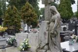Cmentarz Parafialny w Sieradzu. Za bramą wielkiej ciszy pomyka jesień ZDJĘCIA