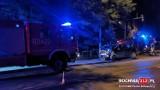 Wypadek w Bochni. Na skrzyżowaniu ul. Więźniów Oświęcimia i Konstytucji 3 Maja mercedes zderzył się z audi [ZDJĘCIA]