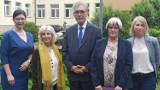 Szpital w Wolicy odwiedziła Paloma Cuchi, dyrektor generalna WHO w Polsce. ZDJĘCIA