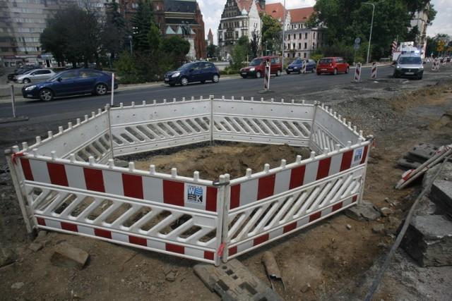 Ludzkie szczątki na placu budowy w Legnicy