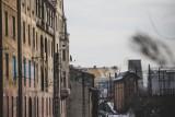 Klimatyczne Szopienice w obiektywie Marzeny Bugały. Przyprószone śniegiem, otulone mgłą