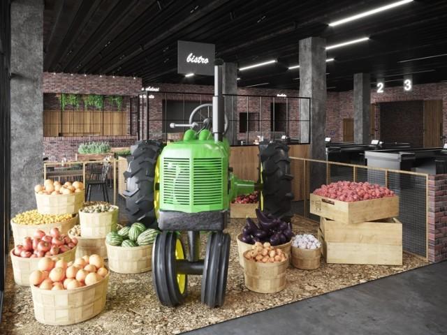 Zielony Bazar - pierwszy w kraju marek owocowo-warzywny otwarty zostanie w Katowicach przy ul. Kolońskiej 1