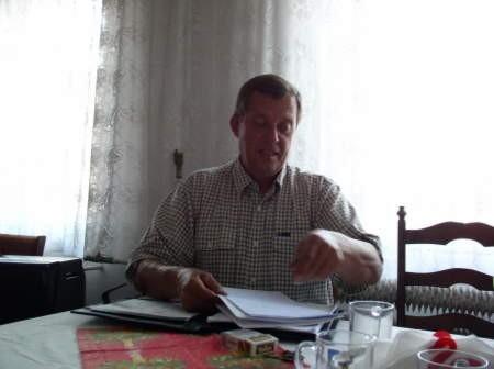 Krzysztof Gogolewski jest oficjalnym kandydatem na stanowisko burmistrza z poparciem czerskiego koła LPR.Fot. Maria Sowisło