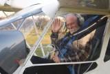 70 mieć lat to nie grzech.Sieradzanin Józef Wojtanka zbudował samolot  ZDJĘCIA