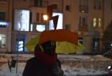 Kolejny strajk kobiet w Gubinie. Nie cieszą się one jednak popularnością. W ostatniej pikiecie udział wzięło... ok. 10 osób!