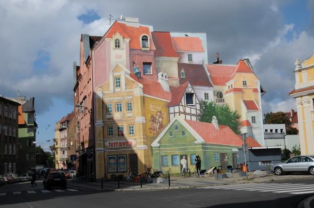Mural na Śródce zachwyca poznaniaków