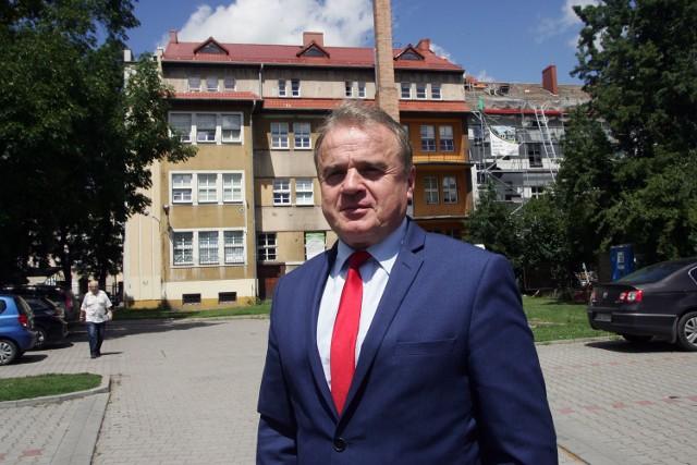 Jan Serkies - burmistrz Chojnowa