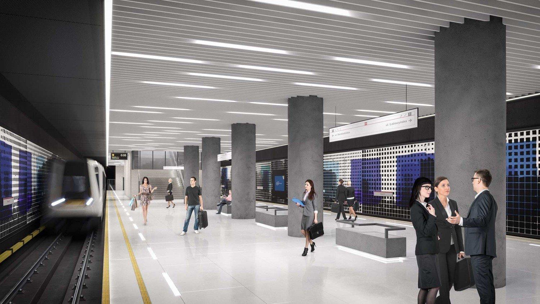 Wiemy Jak Bedzie Wygladac Metro Na Brodnie Lada Dzien Rusza Budowa