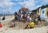 W Jarosławcu usypali wielką górę piasku, na ponad 2,5 metra [zdjęcia]