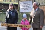 Ośrodek Kultury Leśnej w Gołuchowie. Najmłodszy z żubrów otrzymał imię. ZDJĘCIA