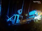 Tragedia na trasie DK1 w Kobiórze. Nie żyje 54-letni kierowca renault
