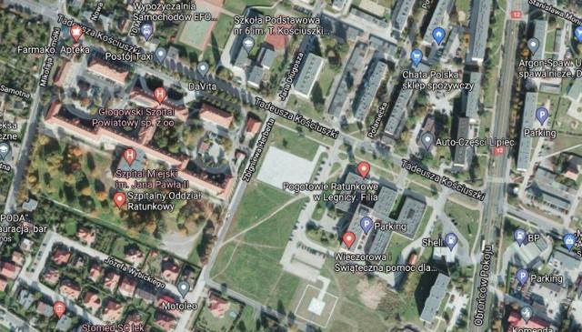 Działka między szpitalem a przychodnią trafi w ręce miasta