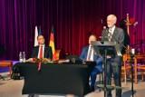 Tytuł Honorowego Obywatela Olkusza dla Güntera Pabsta. Za wkład w rozwój partnerstwa Olkusza ze Schwalbach am Taunus w Niemczech [ZDJĘCIA]