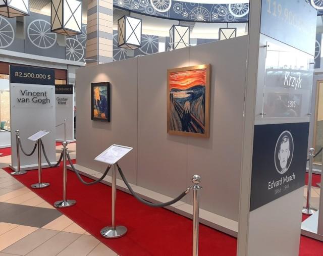 Reprodukcje najdroższych obrazów świata na wystawie w Silesia City Center