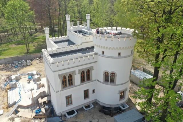 Prace w związku z rewitalizacją pałacu Tiele - Wincklerów w Bytomiu trwają. Zobacz kolejne zdjęcia. Przesuwaj zdjęcia w prawo - naciśnij strzałkę lub przycisk NASTĘPNE >>>