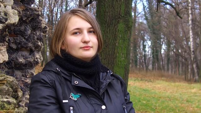 """Karolina Salwowska, autorka powieści """"Nairan. Powiernicy"""""""