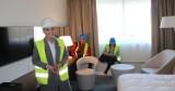 Budowa OVO Wrocław [zdjęcia]. Tak będą wyglądały pokoje hotelu DoubleTree by Hilton