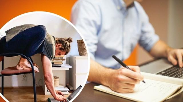 Jak poprawnie siedzieć na krześle, na którym spędzamy dużo czasu?