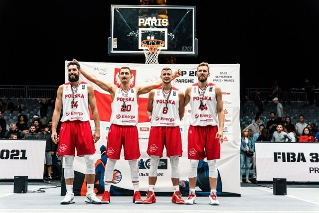 Reprezentacja Polski w koszykówce 3x3 zakończyła mistrzostwa Europy na znakomitym, trzecim miejscu