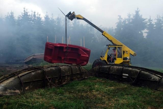 Pożar w Klawkowie