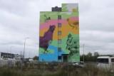 W Radomiu przy ulicy Energetyków powstał nowy mural. Zobacz zdjęcia!